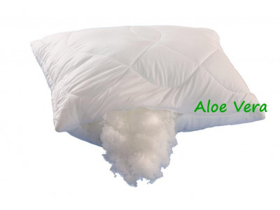 Brotex Polštář Aloe Vera 70x90cm 700g se zipem kuličky UNICO