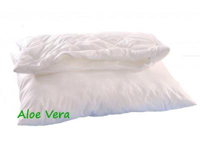 Brotex Polštář Alaska Aloe Vera 70x90cm 900g 2x zip kuličky Standard